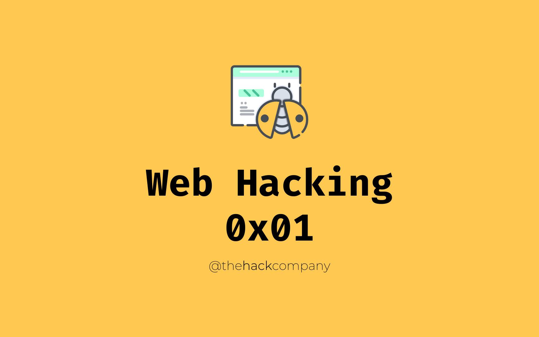 Web Hacking - 0x01